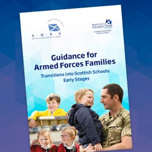 Cover, Guidance for Armed Forces Families