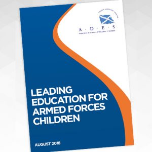 Cover, Leading Education for Armed Forces Children