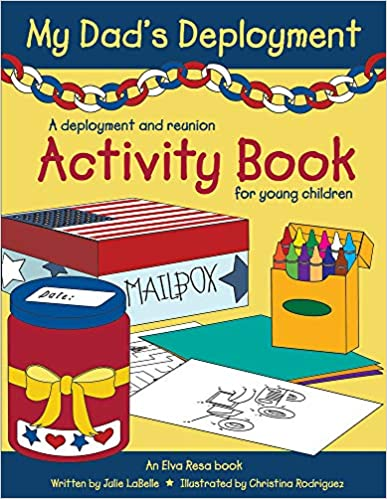 Cover: My Dad's Deployment Activity Book