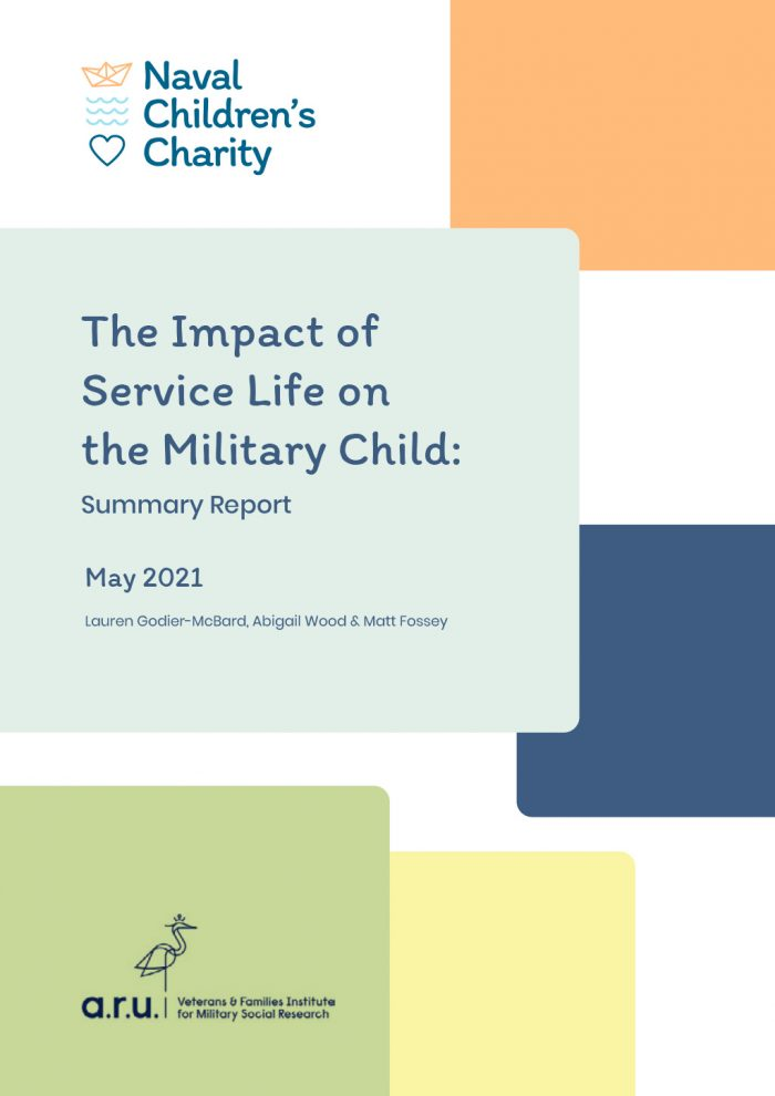 Cover:  The Impact of Service Life on the Military Child: Summary Report