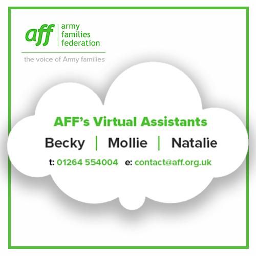 Get in touch with Becky, Mollie, Natalie AFFs new support assistants